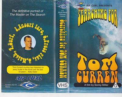 Surfing~ Searching For Tom Curren  Vhs Video Pal~ A Rare Find