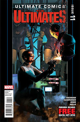 Ultimate Comics The Ultimates #11 VF (Marvel Comic) MR-5