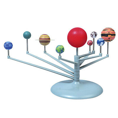 DIY Educational Toys Nine Planets Science Solar System Model Reading Toys