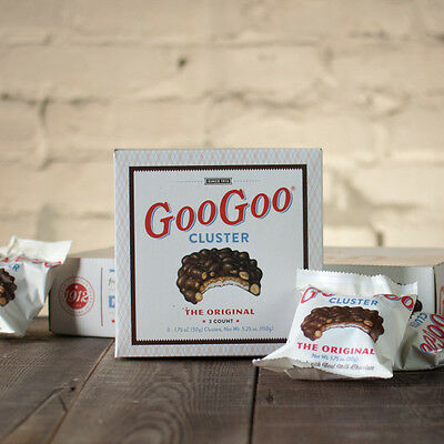 Nashville's Famous Goo Goo Clusters Candy 3 Chocolate With Peanuts Mail As Gift
