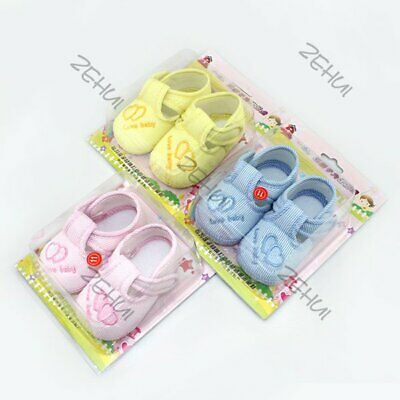 Newborn Baby Kids Warm Boots Shoes Lovely Toddler Girls Prewalker Shoes 0-12 M