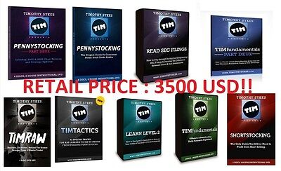 Timothy - Tim Sykes 10 Dvd Pack Courses