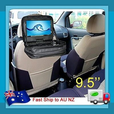 """New 9.8"""" 9.5"""" Portable DVD Player Carry Bag Case Storage for Car Headrest Mount"""