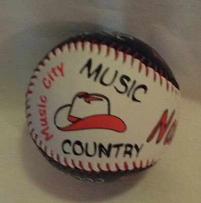 Nashville Base Ball With Music City Guitars Cowboy Hats And Country Music
