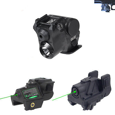Tactical Green Laser Sight Rechargeable Green Laser For Pistol 20mm rail