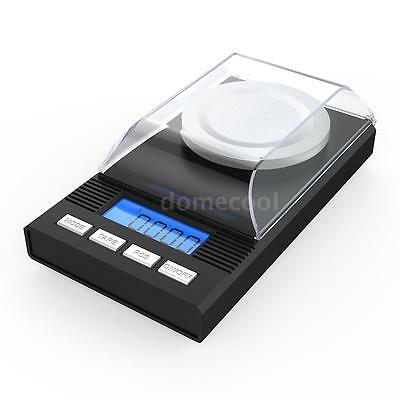 Digital Milligram Scale 50g/0.001g Mini Gold Jewelry Powder Carat Scale New X5T0