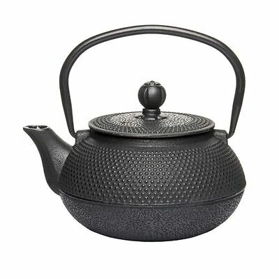 Benzer - Orient Express Zen Cast Iron Tea Pot Black 600ml