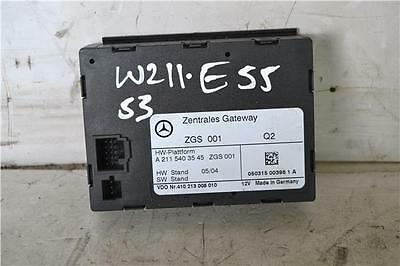 Mercedes E Class Central Gateway Unit A2115403545 w211 gateway module 2003