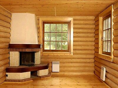 LOG CABIN HOME shell kit logs 1308 sq.ft 36' x 24' with loft and porch