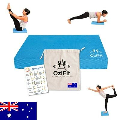 2x Yoga Balance Pads TPE Non Slip & Eco-Friendly Perfect Rehab 15% off + Bonuses