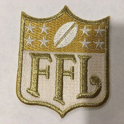 GOLD Fantasy Football League FFL Patch for Jersey Trophy Champion Shirt Award