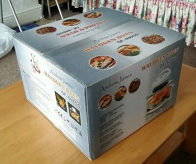 Andrew James 12 LTR Premium White Digital Halogen Oven Cooker