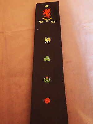 Wales  Rugby Grand  Slam 1971  Tie