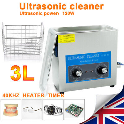 6L Ultrasonic Cleaner Ultra Sonic Cleaner Cleaning Machine Timer Heating