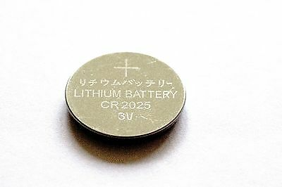 3 x CR2025 3V Lithium Knopfzelle 150 mAh lose Markenware Eunicell