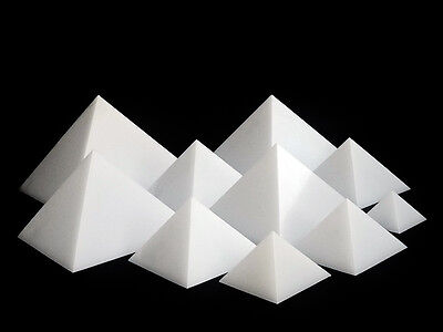 40% OFF Cheops Pyramid geometry, Mold Set of 10, HDPE SELFLUBRICATING plastic