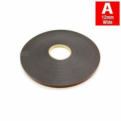 MagFlex® 12.7mm Wide Flexible Magnetic Tape - Self Adhesive - Polarity A (1x30M)