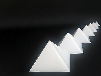 40% OFF Cheops Pyramid geometry, Mold Set of 7, HDPE SELFLUBRICATING plastic