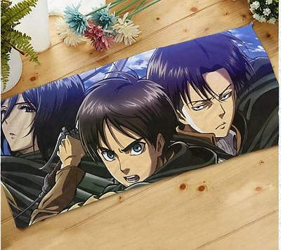 Anime Towel. Attack on Titan.Shingeki no Kyojin.Mikasa.Ackerman.Levi Rivaille