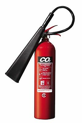 5 Kg Co2 Fire Extinguisher British Standard Office Home Electrical Kitemarked