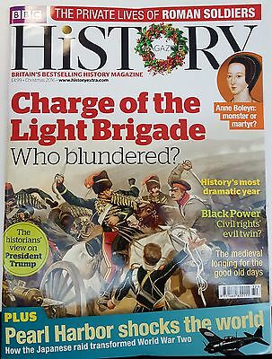 BBC History Magazine Christmas 2016 Charge of Light Brigade Pearl Harbor, Romans