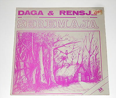 "Surinam - Daga & Rensje - 12"" EP - Seremaja - Fisureco International FOS 45134"