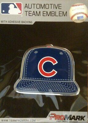 ProMark Chicago White Sox Raised Metal Oval Color PV Chrome Auto Emblem Decal Baseball