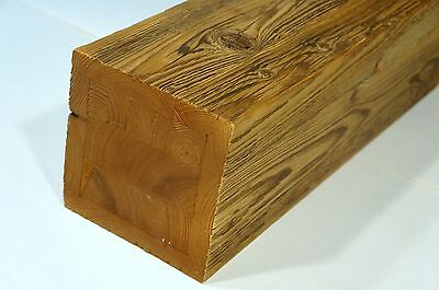 Reclaimed Solid Wood Furniture legs Wooden Bed beams 150x150mm Antique Brushed