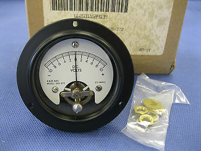 A&M Voltmeter - Dc Volts  Nsn 6625-01-158-9139 , Jewell Instruments 265-373