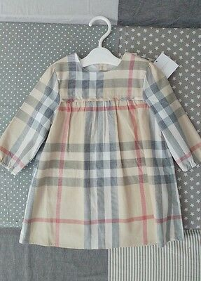 Baby girl Burberry dress * Brand new with tag * 12 months