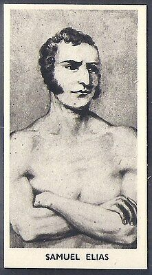 Cartledge-Famous Prize Fighters Boxing (Matt White Print)-#05- Samuel Elias