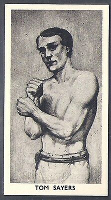 Cartledge-Famous Prize Fighters Boxing (Matt White Print)-#15- Tom Sayers