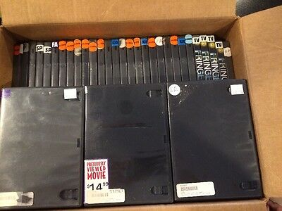 LOT OF 52 Red Tag DVD System Security Case (Locks Not Included)