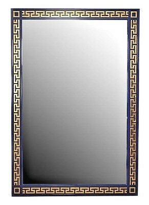 Italian Neo-Classic Style Blue Painted Lacquer Mirrors