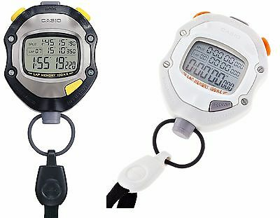 ●CASIO Stop Watch HS-70W-1JH Black Waterproof Sports Stopwatch ●Free tracking●
