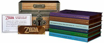 The Legend of Zelda Box Set Collectors Edition Strategy Game Guide NEU NEW OVP