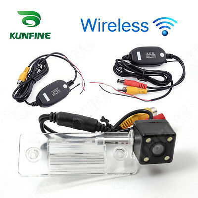 Wireless CCD Track Car Rear View Camera For Skoda Fabia 2012 Parking Camera