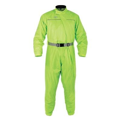 Oxford Rainseal Waterproof Motorcycle - Scooter 1pc Oversuit - Fluo Yellow