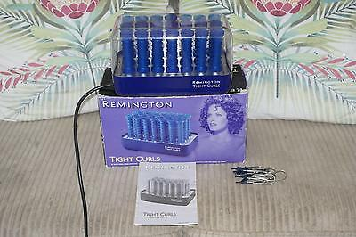 Boxed Remington Tight Curls - Hair Rollers - H21SP Wax Core  - 6