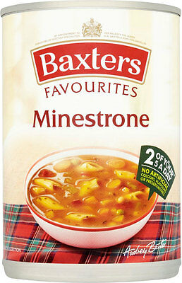 Baxters Favourites Minestrone Soup  3 x 400g