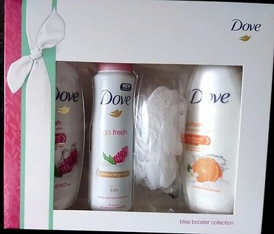 Dove Bliss Booster Collection Gift Set - 4-Pcs Gift Set