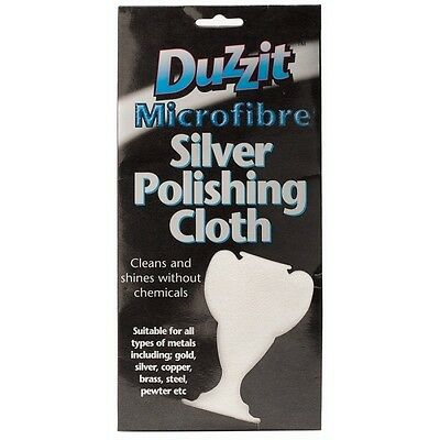 Microfibre Silver Polishing Cloth Metal Cleaning Gold Steel And Pewter Cleaning