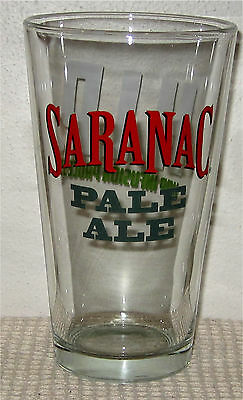 Saranac Brewing Pale Ale Beer Pint Glass- New York