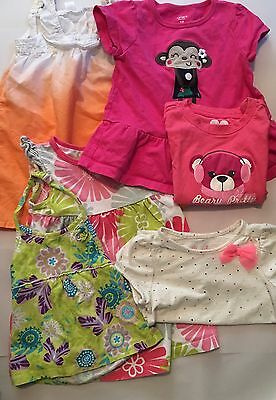 18 Month Girl Clothes Lot - Dresses and Shirts