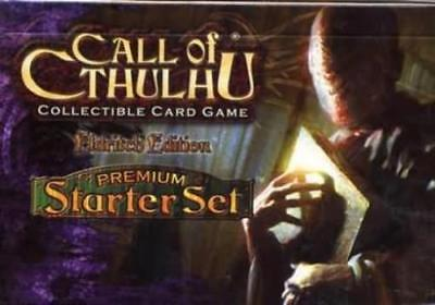 CALL OF CTHULHU ELDRITCH EDITION PREMIUM STARTER SET Collectible Card Game NEW!!