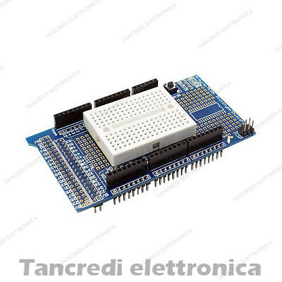 Proto Shield V3 Breadboard 170 punti Kit Arduino mega 2560 ADK prototype shield