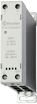 Finder Relay 773182308070pas Static Zero 230 Vac 1 NO 30 A Switching voltage 60