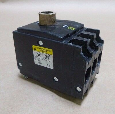 Square D Qo380 Plug-On Circuit Breaker , 80 Amp 80A , 3 Pole , 240V , 50/60Hz