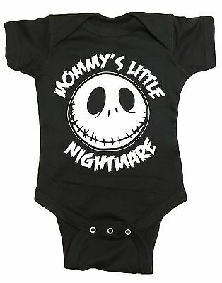 Mommys Little Nightmare The Nightmare Before Christmas Baby One Piece