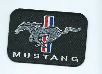 FORD MUSTANG PONY patch 2-3/4 X 4 #1656